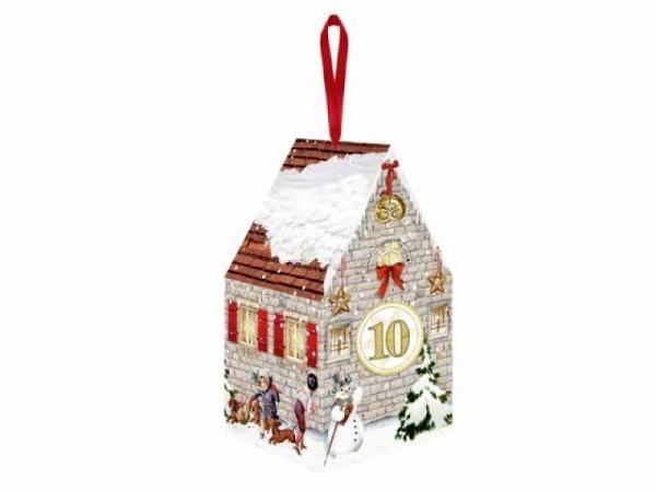 Adventskalender Coppenrath 24 winterliche Adventshäuschen