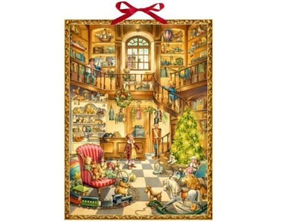Adventskalender Coppenrath Im Spielzeugladen 52x38cm
