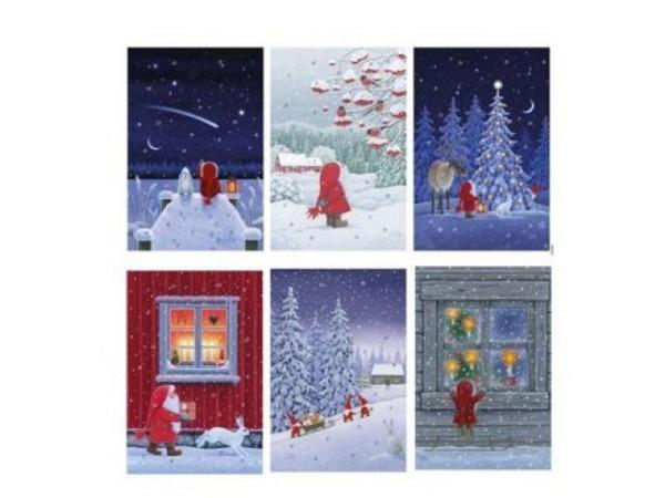 Adventskalender Korsch God Jul von Eva Melhuish