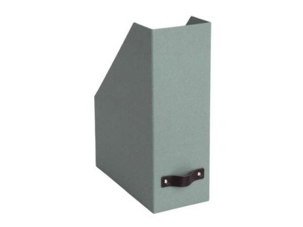 Briefkorb Bigso Box Papierbezug Kate grau
