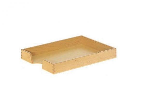 Briefkorb Holz Buche 24x32cm hell lackiert