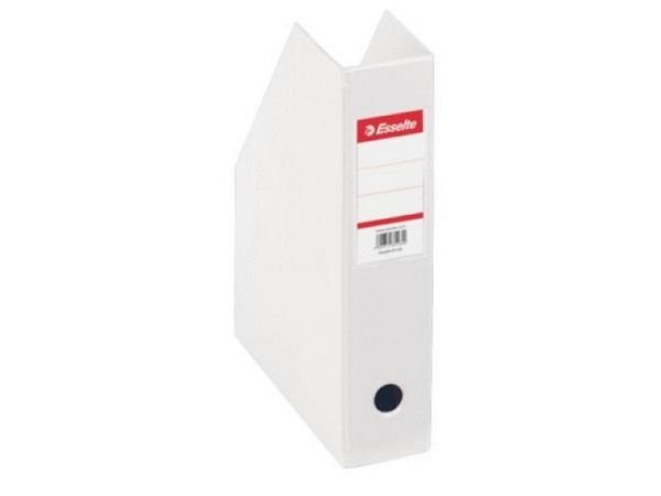 Zeitschriftenbox Esselte A4 weiss 7cm breit