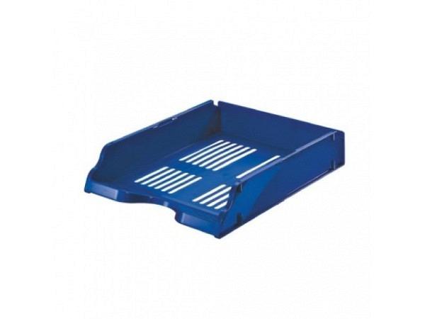 Briefkorb Esselte Transit A4 stapelb. m.Stift blau