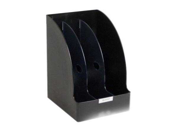 Kataloggestell Leitz Jumbo Plus schwarz mit drei Fächer