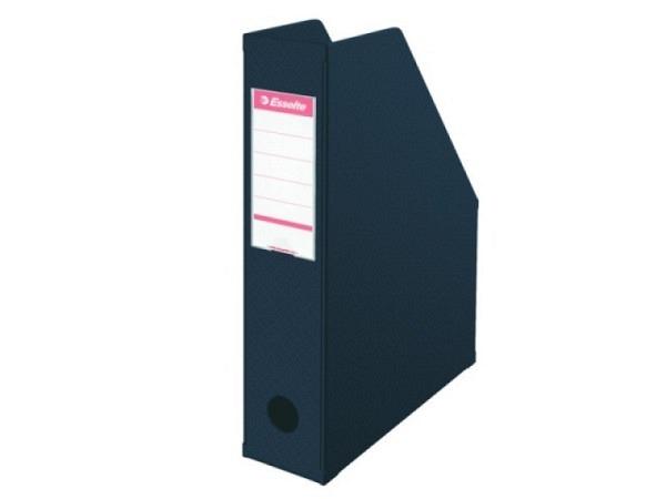 Zeitschriftenbox Leitz schwarz 7cm