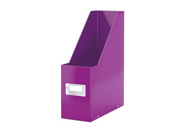 Zeitschriftenbox Leitz Click & Store violett, A4, Hartpappe