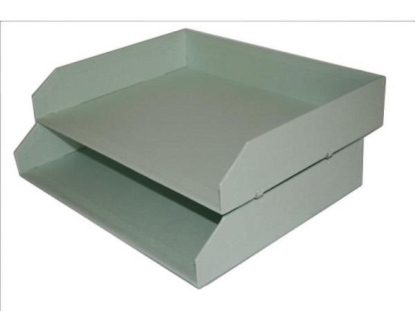 Briefkorb Bigso Box Papierbezug Kate mintgrün