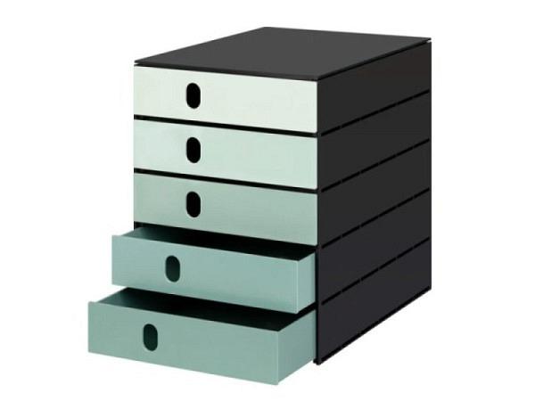 Büroset Lego Storage Drawer Brick 8 gelb 50x25x18cm