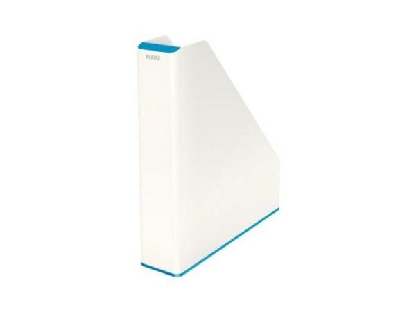 Zeitschriftenbox Leitz Wow-Design blau