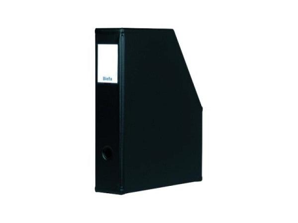 Zeitschriftenbox Biella Info-Box A4 schwarz