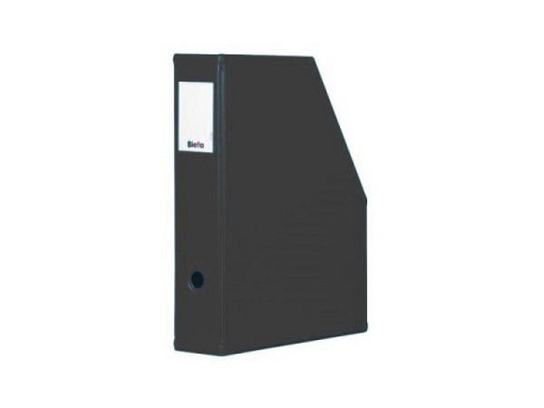 Zeitschriftenbox Biella Info-Box A5 schwarz