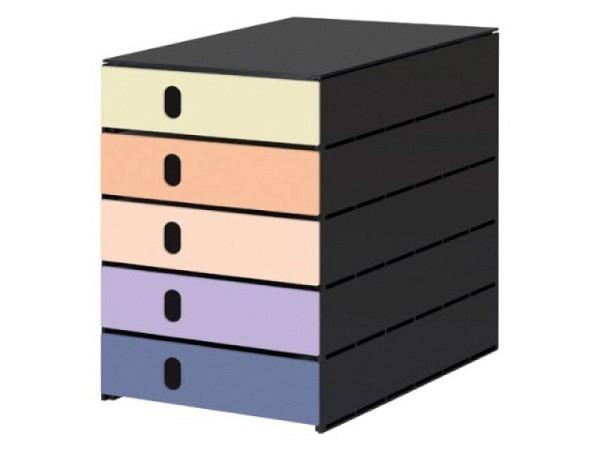 Büroset Lego Storage Drawer Brick 4 gelb