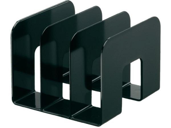 Kataloggestell Durable schwarz mit drei Fächern