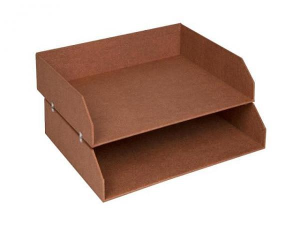 Briefkorb Bigso Box Papierbezug Kate altrosa