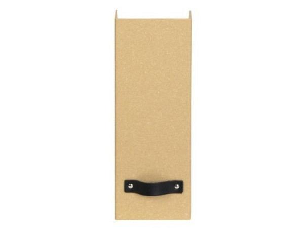 Zeitschriftenbox Bigso Box Papierbezug Viola mintgrün 2Stk.