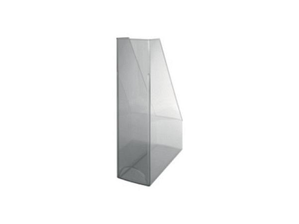 Zeitschriftenbox Helit Economy transparent farblos A4 bis C4