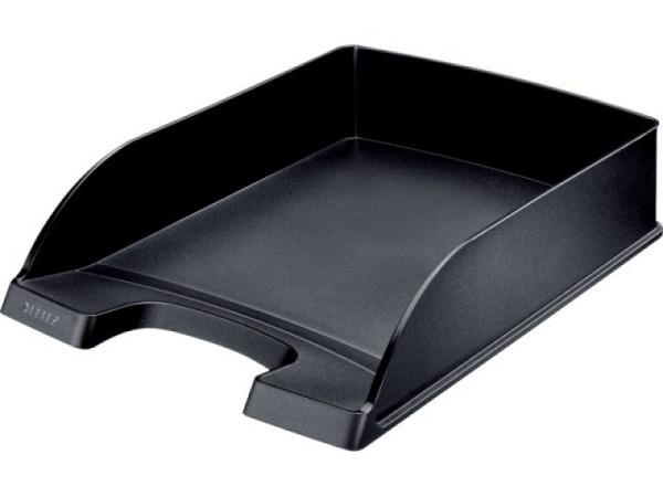 Briefkorb Leitz Standard Plus A4 schwarz, 6cm hoch
