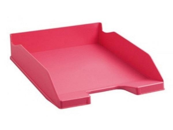 Briefkorb Exacompta Combo A4 hoch himbeer pink