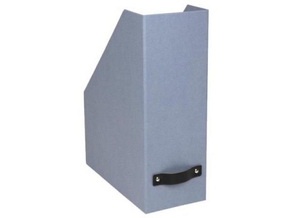 Zeitschriftenbox Bigso Box Papierbezug Viola altrosa