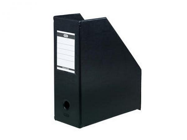 Zeitschriftenbox Elba A4 schwarz 11cm