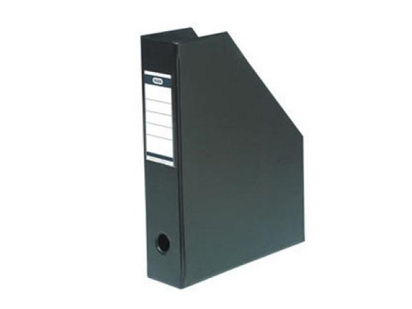 Zeitschriftenbox Elba A4 schwarz 7cm