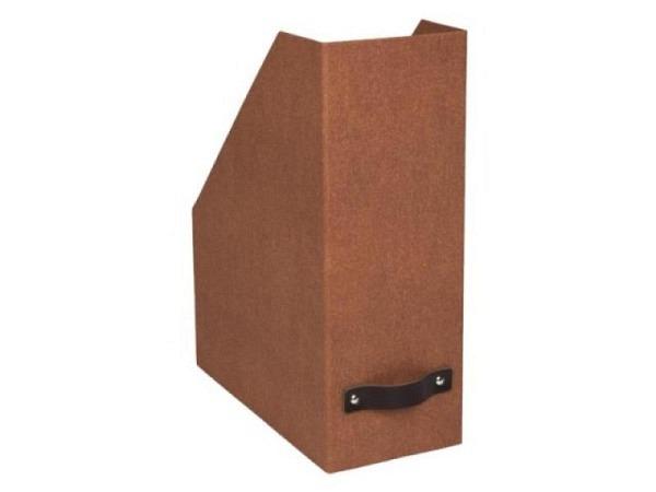 Zeitschriftenbox Bigso Box Papierbezug Viola blau 2Stk.