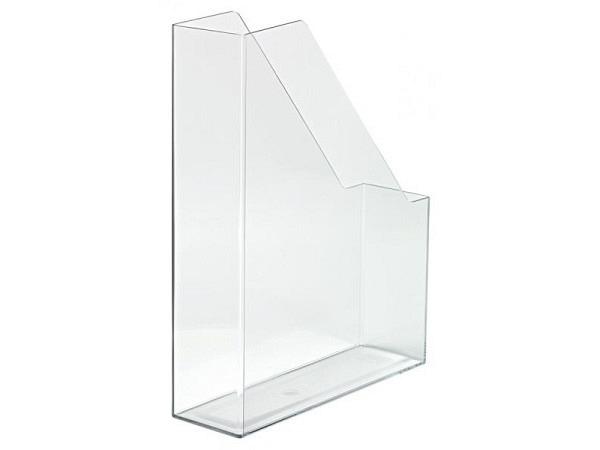 Zeitschriftenbox Han Twin A4 transparent blau