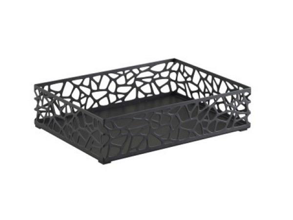 Briefkorb Trendform Tray Nest schwarz, 31,8x23,2x7,5cm