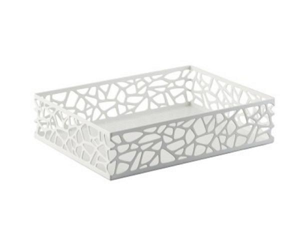 Briefkorb Trendform Tray Nest weiss, 31,8x23,2x7,5cm