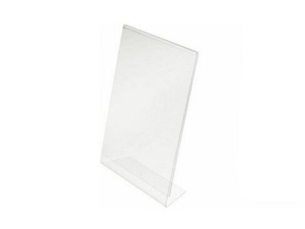 Schilderhalter Acryl transparent A6 100x148mm Hochformat