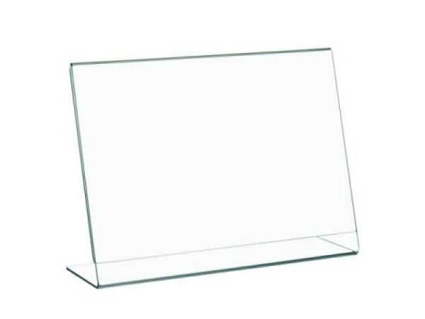 Schilderhalter Acryl transparent A5 210x148mm Querformat