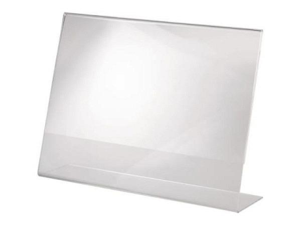 Schilderhalter Acryl transparent A4 297x210mm Querformat