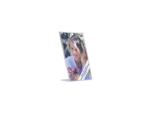 Schilderhalter Acryl transparent 9x13cm hoch