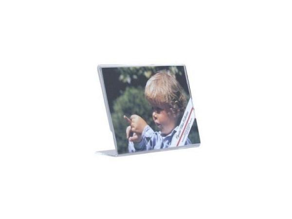 Schilderhalter Acryl transparent 15x10cm quer