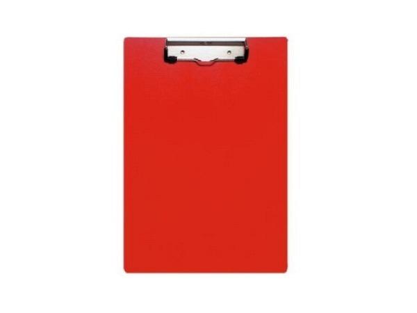 Klemmplatte Biella Scripla A4 hoch rot