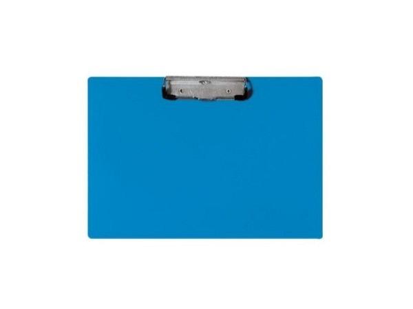 Klemmplatte Biella Scripla A4 quer blau