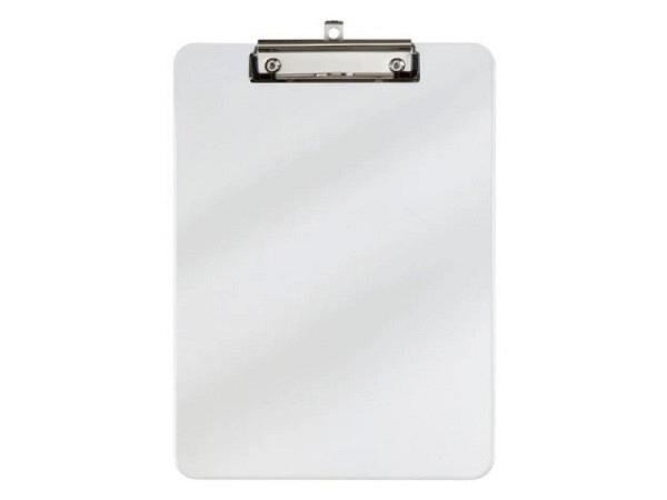 Klemmplatte Bigso Box Papierbezug Alex grau A4