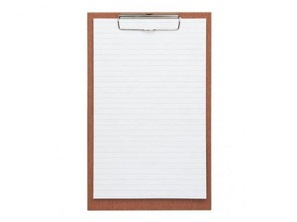 Klemmplatte Bigso Box Papierbezug Alex mintgrün A4