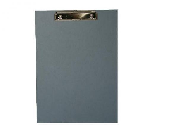 Klemmplatte Bigso Box Papierbezug Alex blau A4