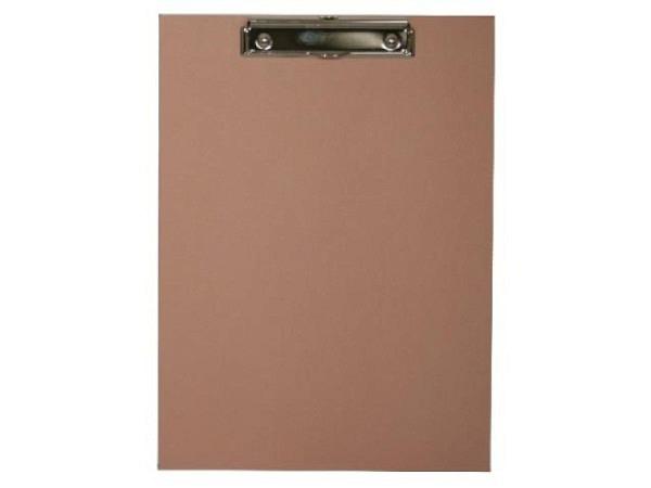 Klemmplatte Bigso Box Papierbezug Alex altrosa A4