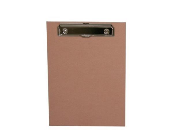 Klemmplatte Bigso Box Papierbezug Adam altrosa A5