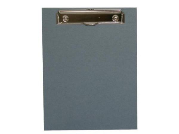Klemmplatte Bigso Box Papierbezug Adam blau A5