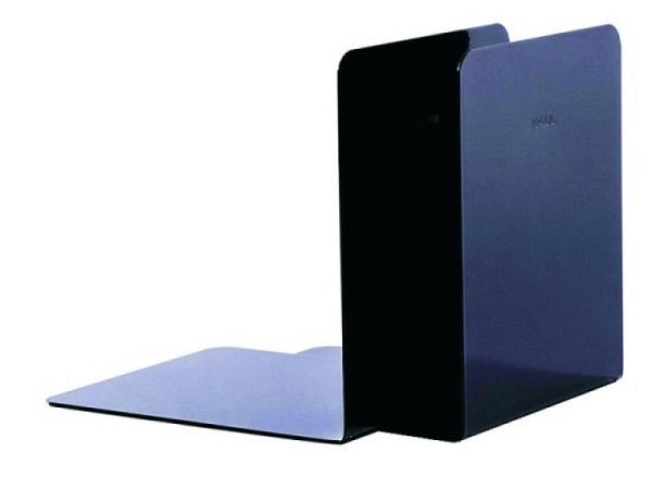 Buchstütze Maul Metall 14cm hoch 13x14cm schwarz 2Stk.