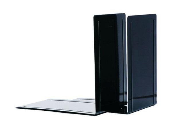 Buchstütze Maul Metall 24cm hoch 16,8x24cm schwarz 2Stk.