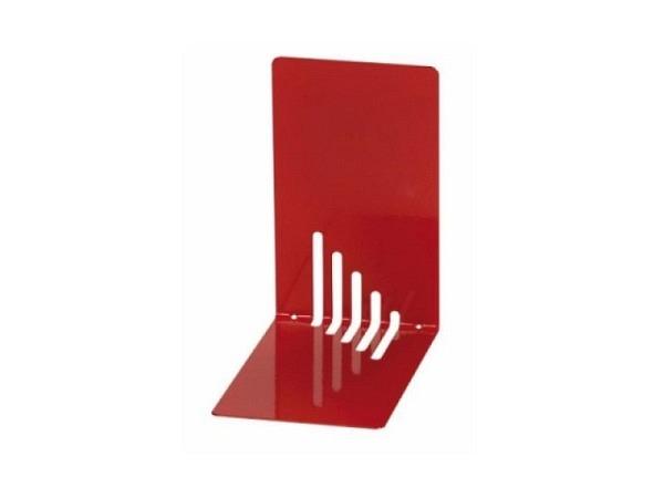 Buchstütze Maul Metall 14cm hoch 8,5cm breit 14cm tief rot