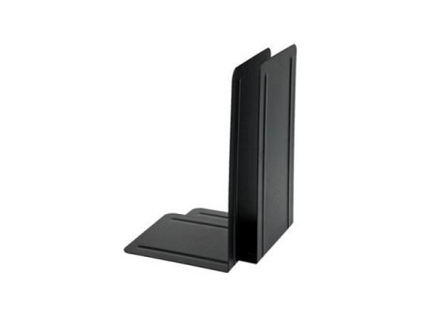 Buchstütze Alco Metall 13x14cm Höhe 24cm schwarz 1Paar