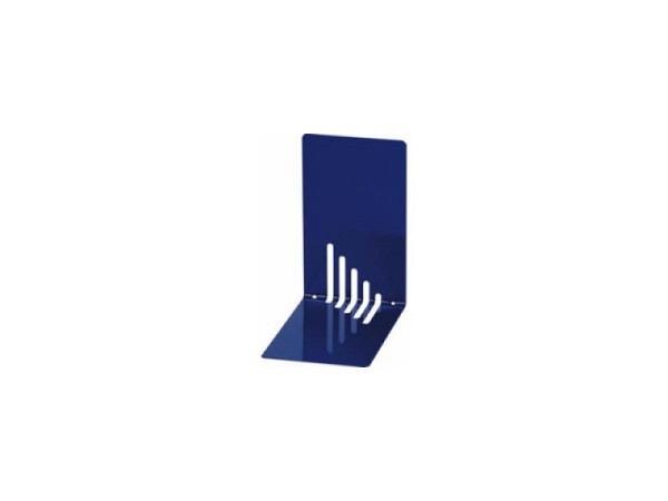 Buchstütze Maul Metall 14cm hoch 8,5cm breit 14cm tief blau