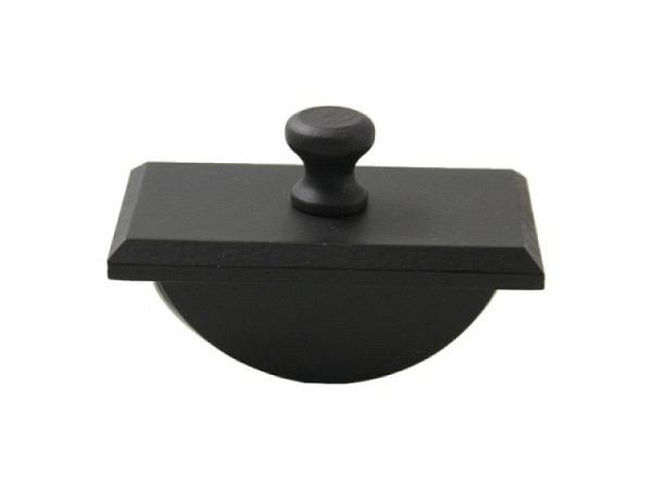 Löschwiege Buchenholz schwarz gebeizt 4,5x8cm