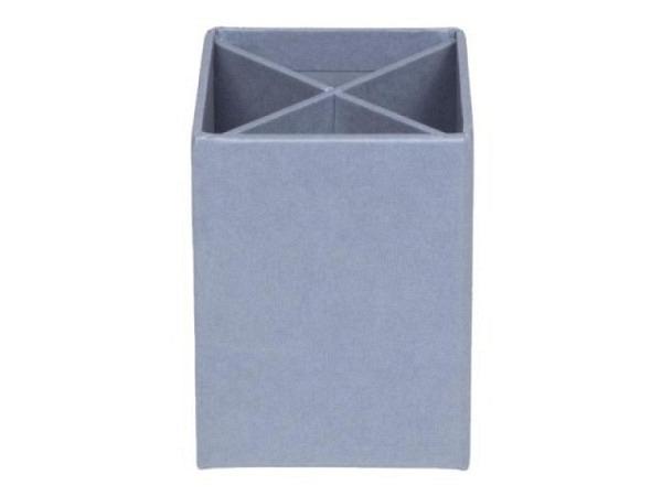 Köcher Bigso Box Papierbezug Penny Dusty Blau