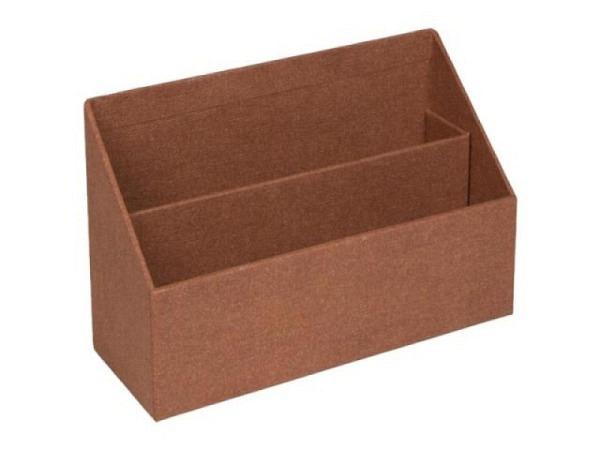 Briefständer Bigso Box Papierbezug George blau